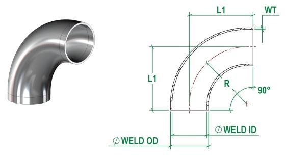 DIN11852 Bend