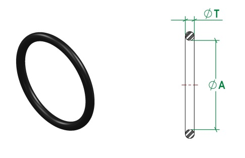 DIN11853-1 Seal DIN11864-1 O-Ring
