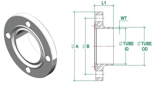 DIN11853-2 Male DIN11864-2 Male