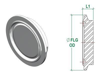 DIN11853-3 Blank Male DIN11864-3 Male Blank