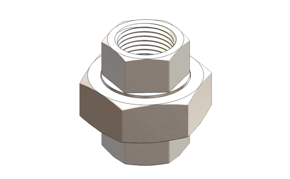 Hex Unions PTFE Seal