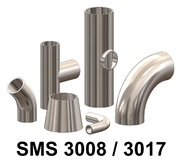 SMS 3008 3017 Bends, Tees, Reducers